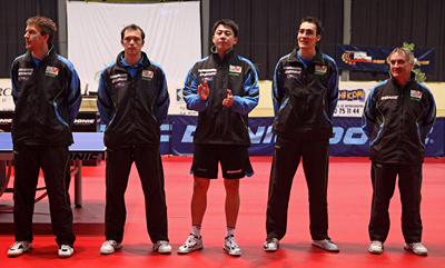 rencontre europe asie tennis de table